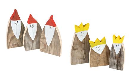 Heilige 3 Könige Deko / Deko Nikoläuse