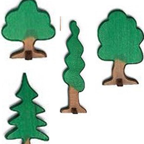 Holzbäume / Spielzeugbäume Holz