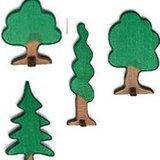 Holzbäume